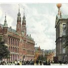 Netherlands Holland Amsterdam Rijks Postkantoor Post Office Vintage Vigevano Postcard