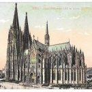 Germany Koln Dom Sudseite Cologne Cathedral South Side Vintage Leo Kurten Postcard