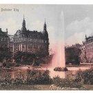Fountain Koln Germany Cologne Deutscher Ring Vintage Postcard F Manger