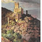 Castle Burg Sooneck Tuck Rheinburgen Oilette Vintage Germany Postcard