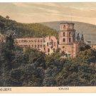 Germany Heidelberg Schloss Castle Cramers Kunstanst Dortmund Vintage Postcard