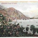 Italy Menaggio Lago di Como Lake Como General View Vintage UND Postcard