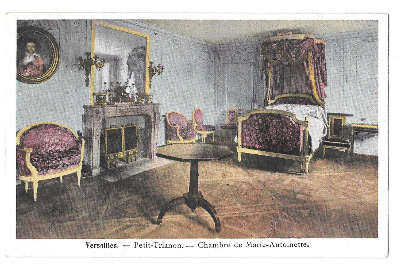 France Versailles Petite Trianon Chambre Marie Antoinette Vintage ...