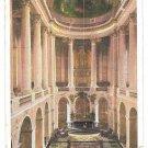 France Versailles Palace Interieur La Chapelle Chapel Interior Postcard