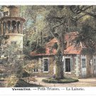 France Versailles Petit Trianon La Laiterie Dairy Marlborough Lighthouse Tower Vntg Postcard
