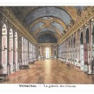 France Versailles Palace Hall of Mirrors Galerie des Glaces Vintage Postcard