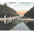 France Versailles Palace Bassin d'Apollon Fountain of Apollo Vintage Postcard