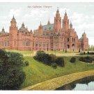 UK Scotland Glasgow Art Galleries Vintage F Bauermeister Quality Series Postcard