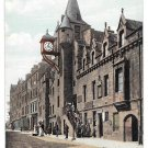 Scotland Edinburgh Canongate Tolbooth Vintage Postcard Valentines Series UK
