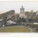 UK Scotland Alloway Ayr Burns Monument Vintage GWW Postcard