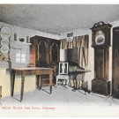 UK Scotland Ayr Alloway Room in which Robert Burns was Born Vintage Postcard GWW