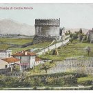 Italy Rome Tomba Cecilia Metella Via Appia Mausoleum Tomb Vintage Postcard