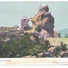 Italy Capri Faro di Tiberio Lighthouse of Tiberius Tower Vintage Postcard