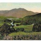 Scotland Stirling Trossachs Loch Achray Ben Venue Vintage Postcard Valentine's Series