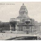 Brussels Bruxelles Palais de Justice Law Courts Vintage Belgium Postcard