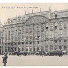 Belgium Brussels Bruxelles Grand Place Maison des Corporations Vintage Postcard
