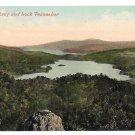 Scotland Loch Achray and Loch Venachar Stirling Vintage Valentine Series Postcard