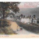 UK Troutbeck Mortal Man Inn Vintage Abrahams Series Color Postcard