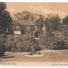 UK Ambleside Rydal Mount Wordsworth House Vintage Abraham's Series Postcard