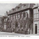 UK Stratford on Avon Marie Corelli Home Mason Croft Vintage Raphael Tuck Glosso RP Postcard