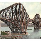 UK Scotland Forth Bridge Edinburgh Valentine Series Postcard