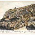 Gibraltar Europa Point Vintage 1908 V B Cumbo Tinted Postcard