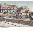 Italy Napoli Nuova Immacolatella Palace Port of Naples Vintage Postcard