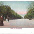 Italy Napoli Interno della Villa Nazionale Promenade Vintage Postcard E Ragozino