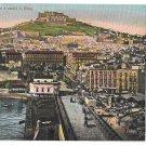 Italy Napoli Panorama Castel S Elmo Naples Vintage E Ragozino Postcard