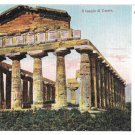 Italy Pesto Templo di Cerere Temple of Ceres Doric Ruins Vintage UDB Ragozino Postcard