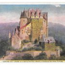 Prudential Insurance Co Schloss Elz Germany Castle Halftone Advertising Postcard