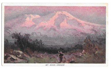 Prudential Insurance Co Mt Hood Oregon Advertising Postcard