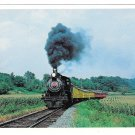 Strasburg Railroad Pennsylvania Rail Road No 1223 PRR Train RR 4X6 Postcard