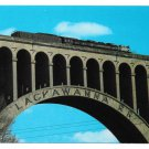 Big Boy on Nicholson Tunkhannock Viaduct Lackawanna RR 4x6 Postcard