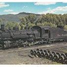 Denver Rio Grande Western Railroad K36 2-8-2 Locomotive 488 LARGE Postcard Trains