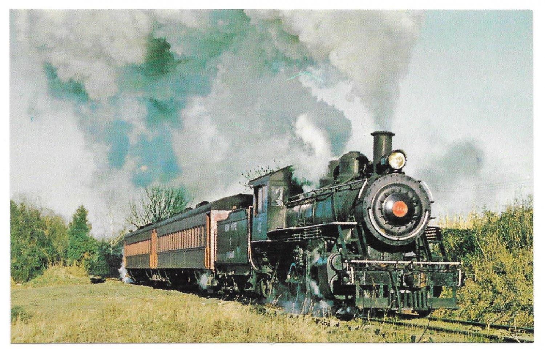 Старые открытки с паровозами