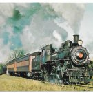 New Hope Ivyland Railroad No 40 Baldwin Steam Locomotive Train Postcard