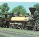 B&O Baltimore Ohio Railroad 10 wheeler Thatcher Perkins RR Train Postcard