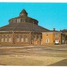 MD Baltimore Ohio Railroad B&O Transportation Museum Trains Postcard Maryland