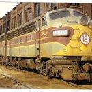 Erie Lackawanna Railroad No 7134 Maybrook Yard NY 1972 Train Postcard