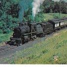 Delaware & Hudson Railroad No 810 Camelback Constitution Locomotive Train Postcard