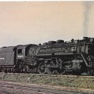 New York Central Railroad No 2385 ALCO Class H-10b Mikado Locomotive Postcard Train
