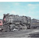 Pennsylvania Railroad PRR G5 Ten Wheeler Locomotive 1816 Train Postcard RR