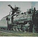 RR Pennsylvania Railroad PRR Consolidation 2-8-0 Locomotive 8382 Train Postcard