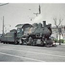 Pennsylvania Railroad PRR Class A5 0-4-0 Locomotive 713 Train Postcard RR