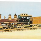 Railroad Wooden Model Train Illinois Central 4-6-0 Locomotive W.T. PotterPostcard