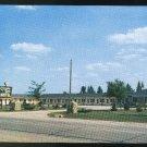 WI County Line Motel Darien Wisconsin US Hwy 14 Vintage Postcard