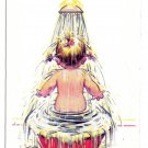 Kiddy Comic Postcard It's a grand and glorious feeling Child in Bath Bamford