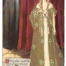 Unsigned Samuel Schmucker Fairy Queen Series Rossetti Poem Rose Vintage Postcard