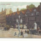 UK England London Holborn Old Houses Vintage Postcard ca 1910